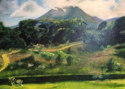 Vulkaan op Costa Rica